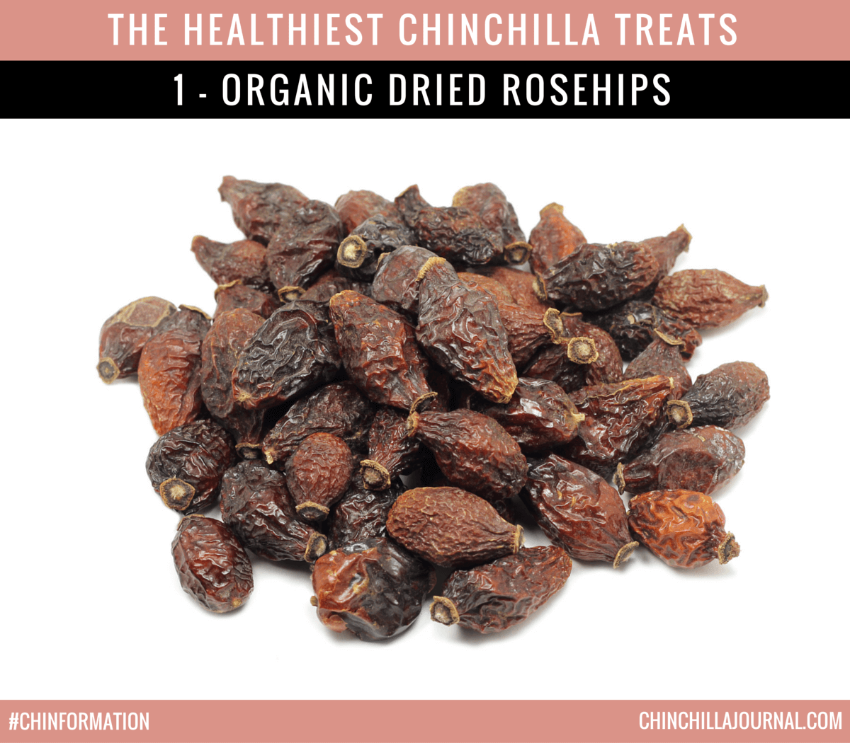 The Healthiest Chinchilla Treats - 1 - Organic Dried Rosehips