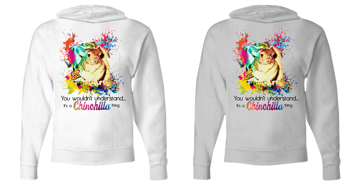 The Perfect Hoodie For Chinchilla Lovers