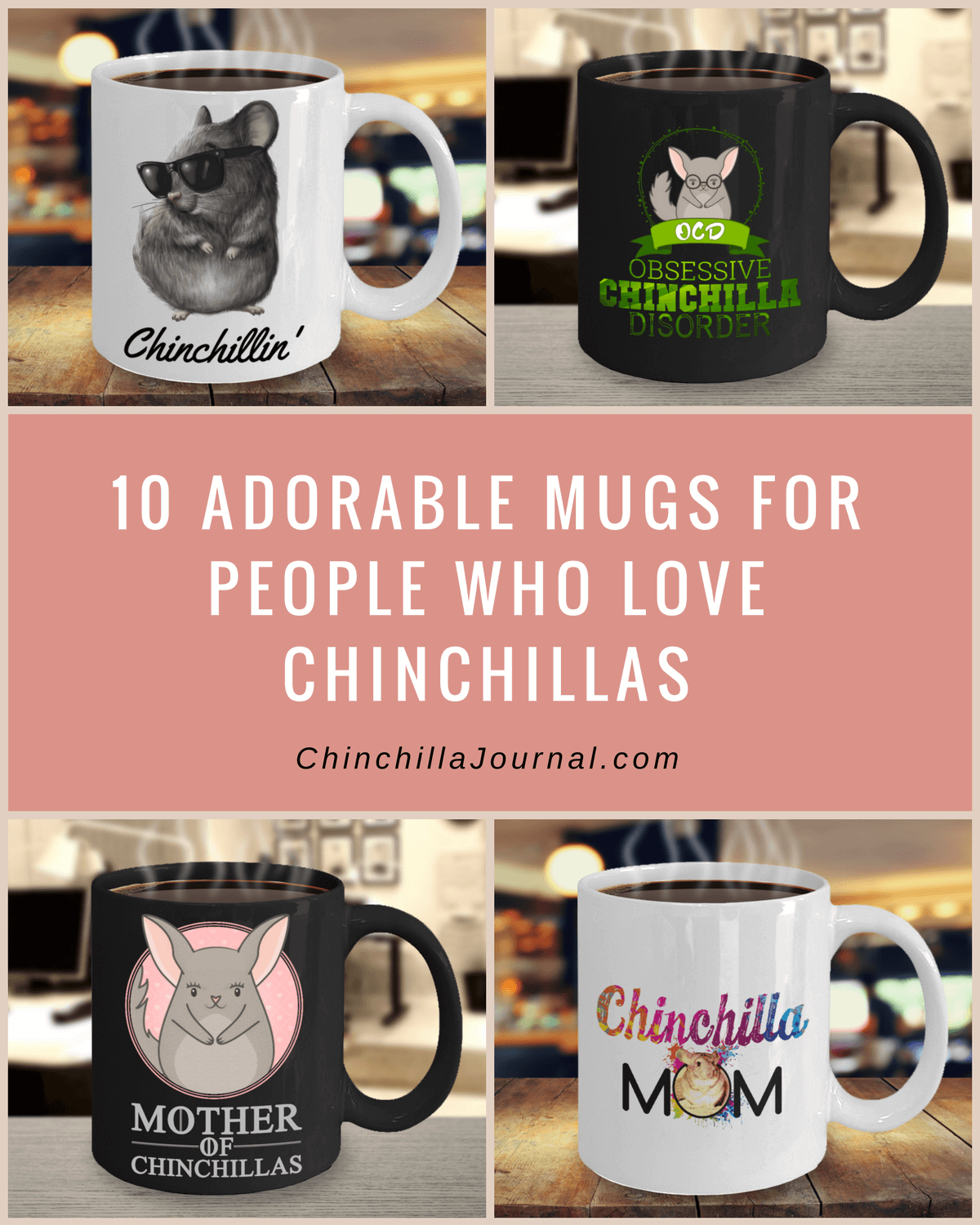 10 Adorable Mugs For People Who Love Chinchillas