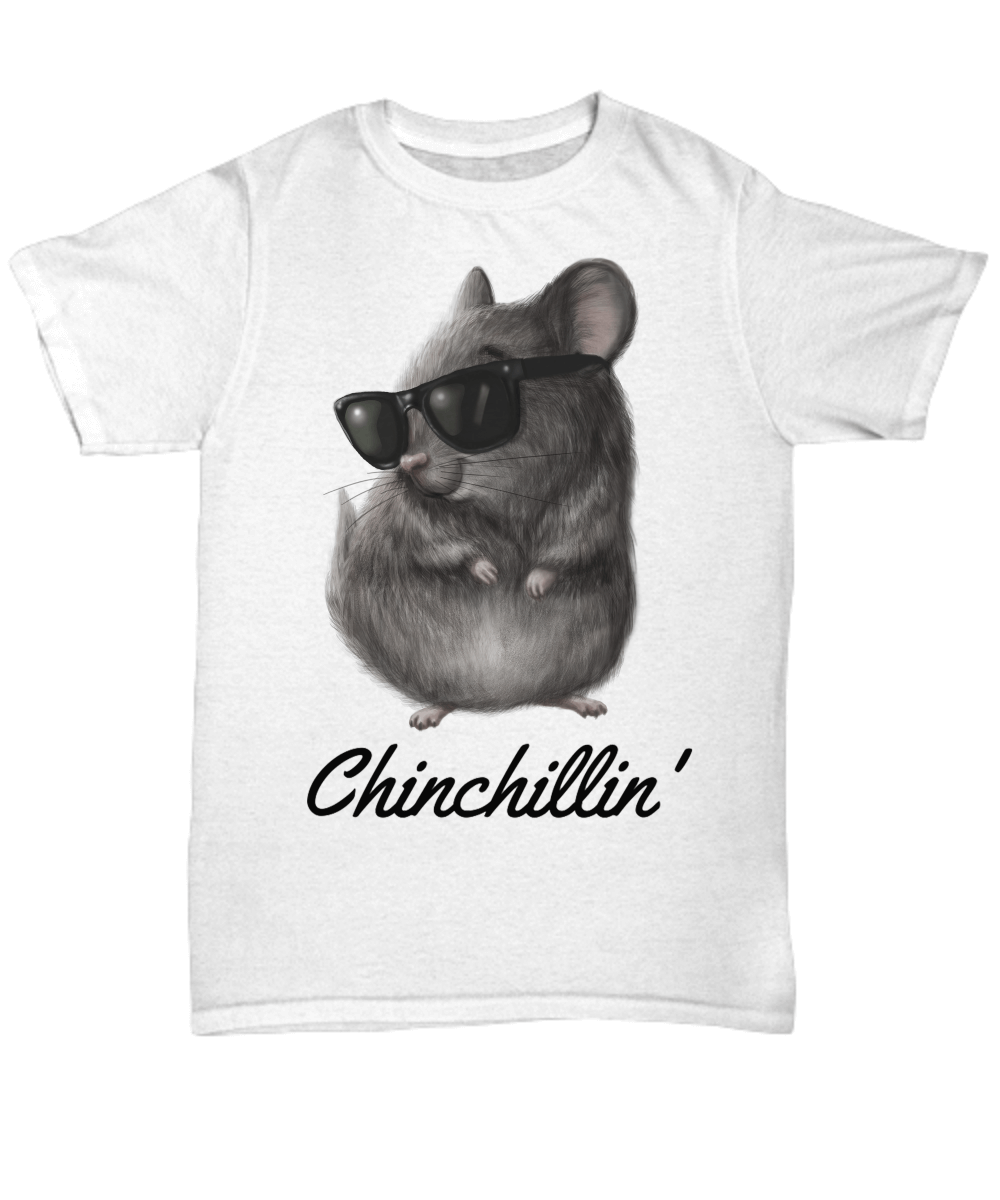 Chinchillin' White T-Shirt