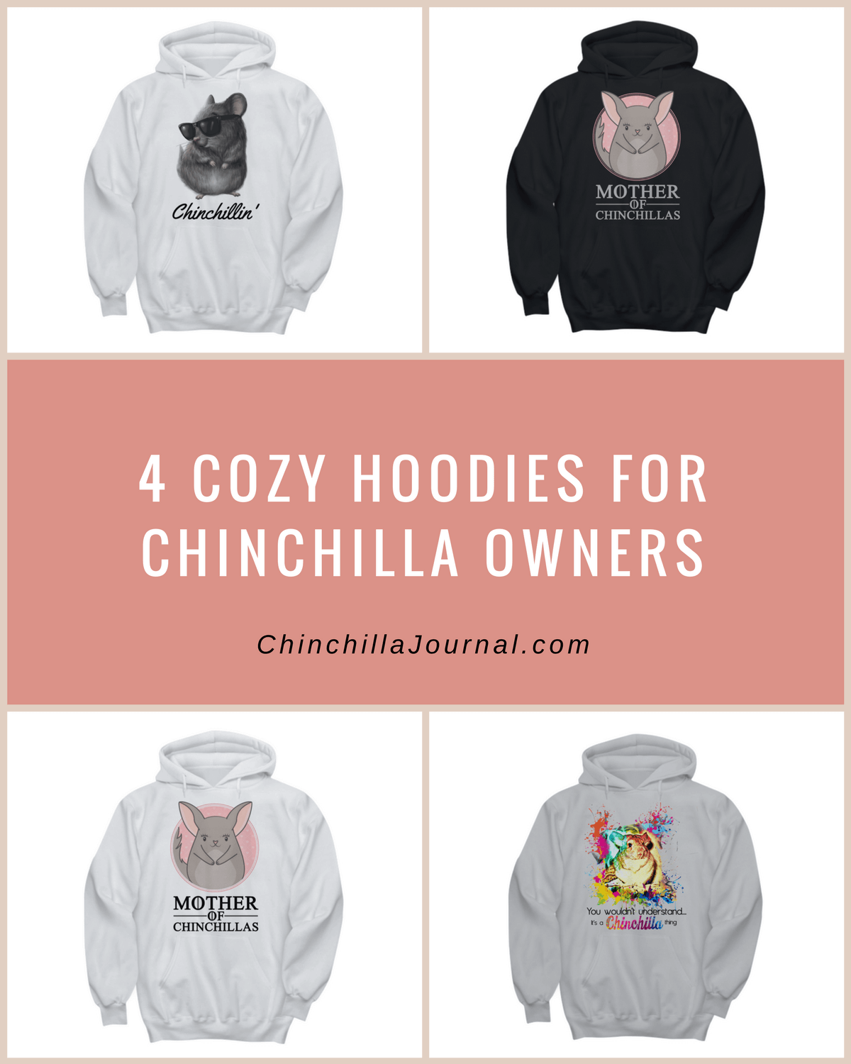 4 Cozy Hoodies For Chinchilla Owners